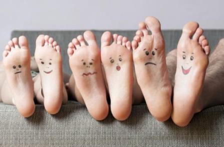 famille pied